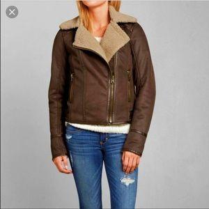 Abercrombie aviator jacket